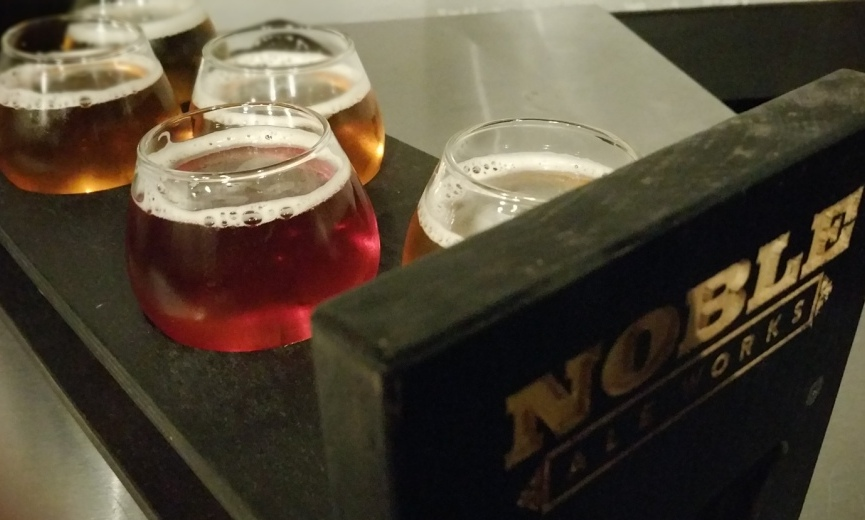 A Third Visit to Noble Ale Works Presents Great IPAs and Other Tasty Beers