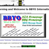 Creating BBYO's Website