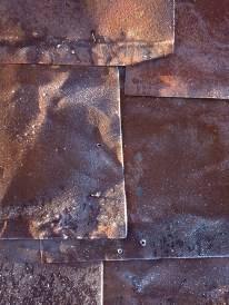 Salted metal sheets