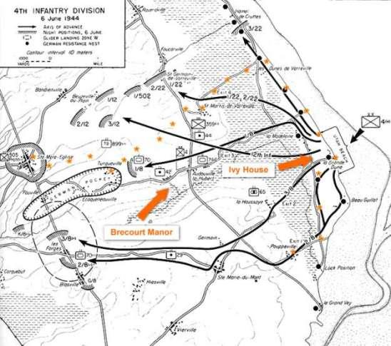brecourt-manor-map