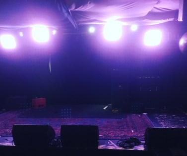 Hope & Ruin, pre-gig