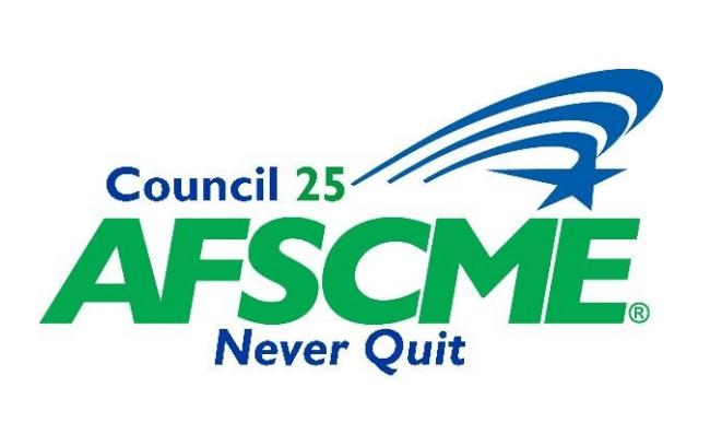 Council 25 AFSCME