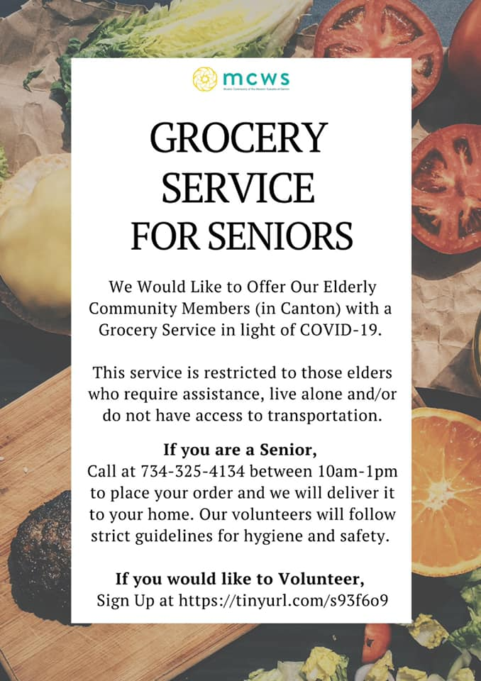 MCWS Grocery Service for Seniors