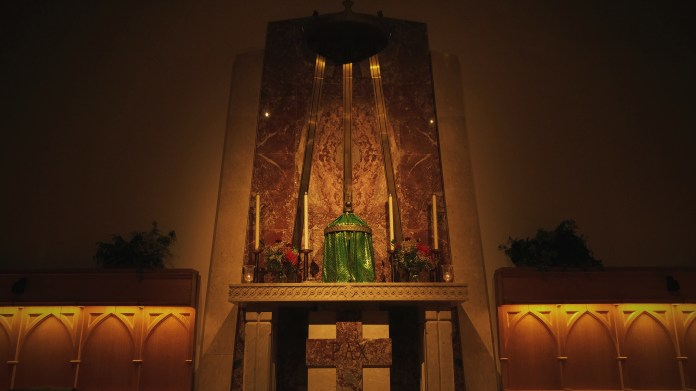 Tabernacle in the Immaculate Conception Chapel