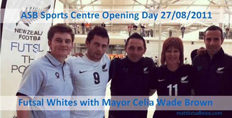 Futsal Whites ASB Sports Centre Kilbirnie