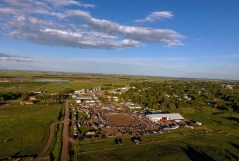 The 15th Wessington Springs Annual Foothills Rodeo is underway on Saturday evening at the Gerauld County 4-H Arena on the Northwest side of town.