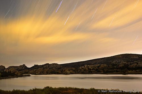 Watson Lake at Night