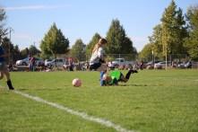 Helen's soccer, Ali's pics, boys visit 154