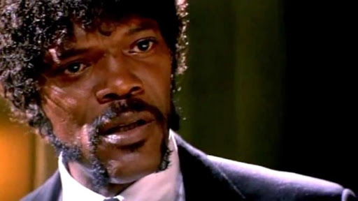 Samuel L. Jackson from Pulp Fiction.