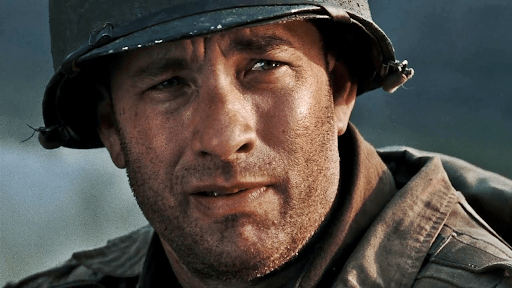 Tom Hanks from Saving Private Ryan.