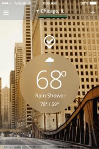 Weather Channel App Main