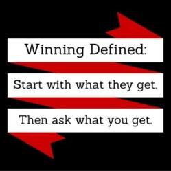 Winning Defined