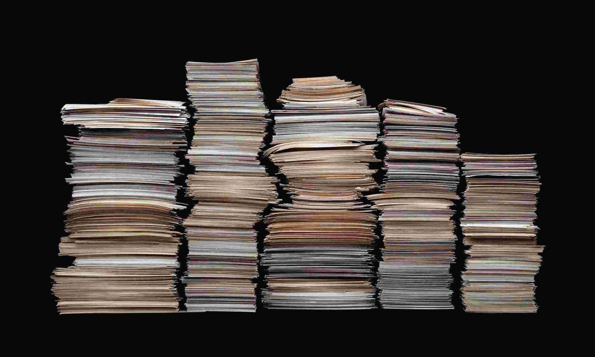 Simplifying Stacks of Paper