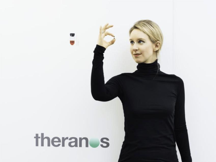 Theranos Elizabeth Holmes
