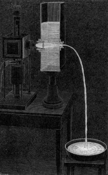 Lightpipe Experiment (Wikipedia)