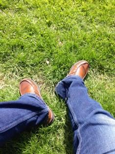 Matthew's shoes