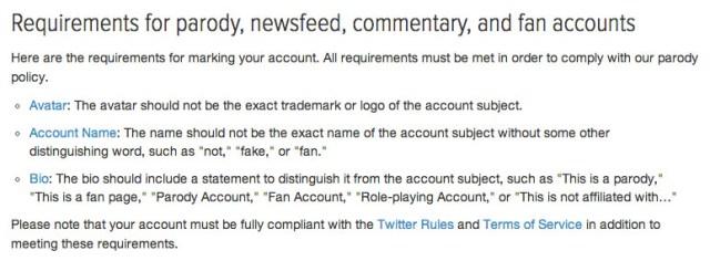 twitter rule