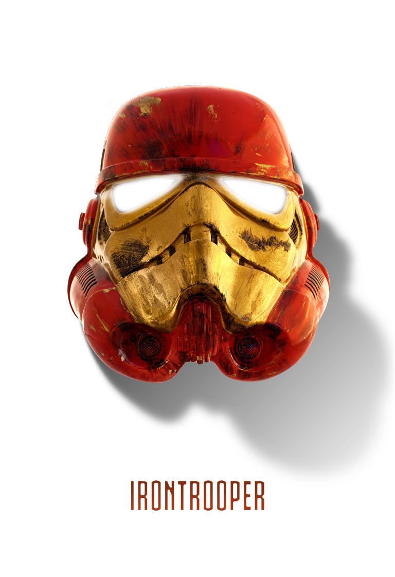 Iron Trooper prop Star Wars Stormtrooper helmet
