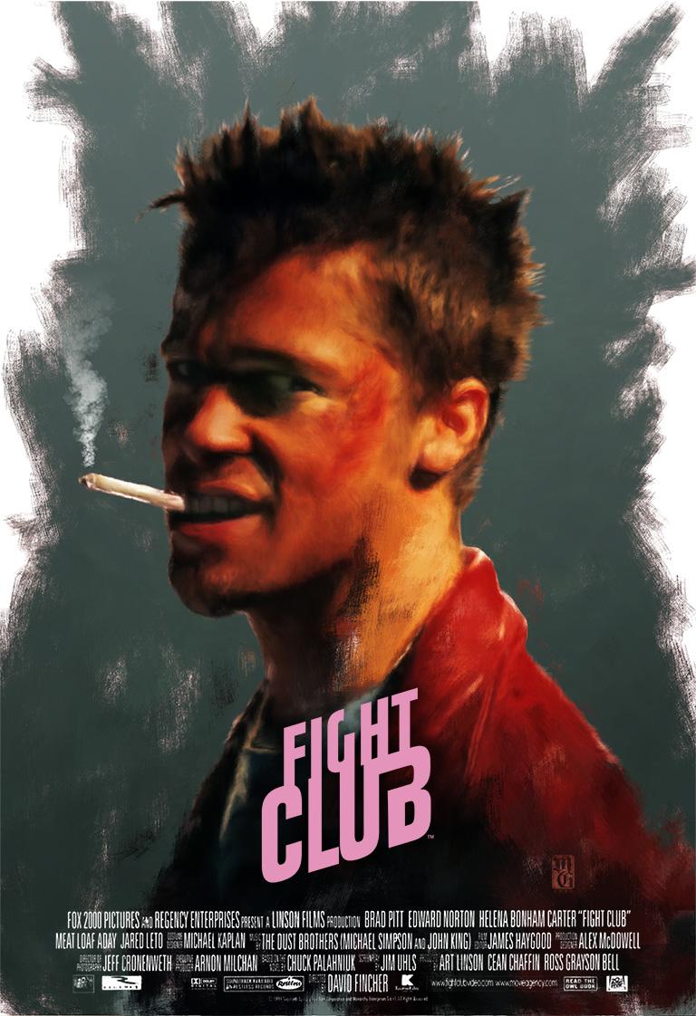 Fight Club alternative movie poster