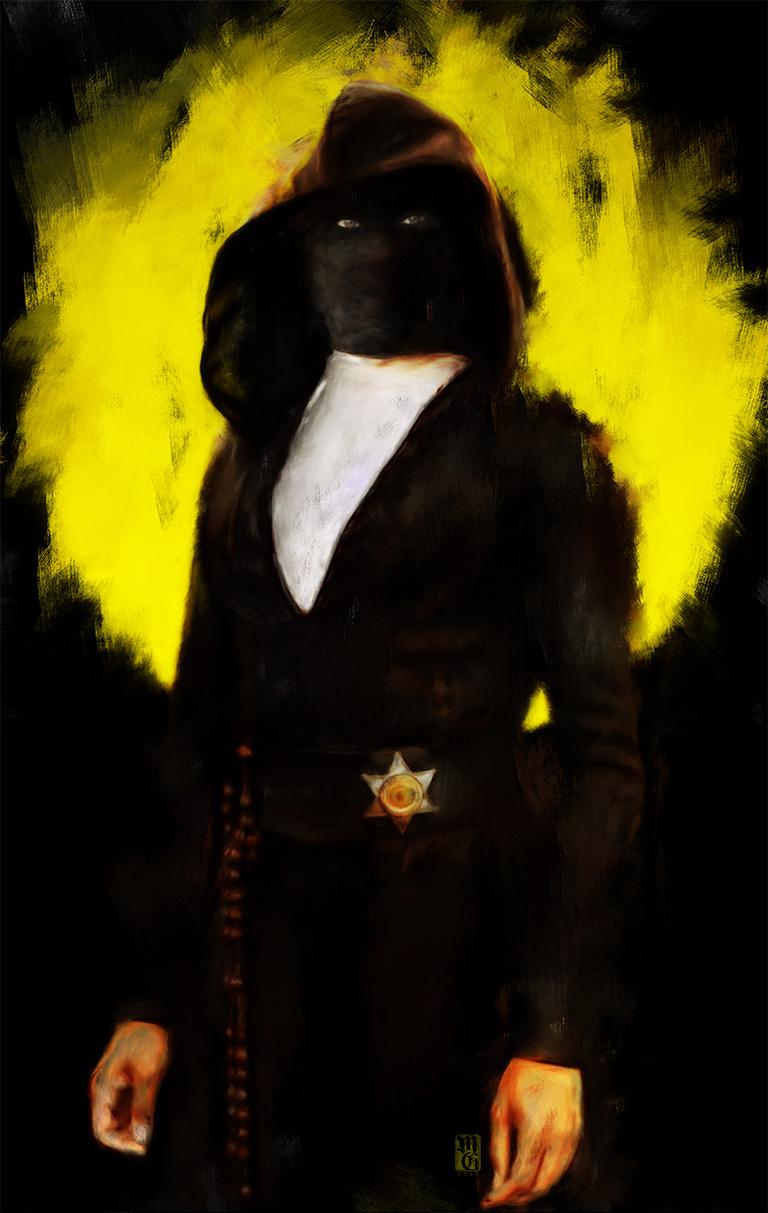 Portrait of Regina King as Detective Angela Abar a.k.a. Sister Night