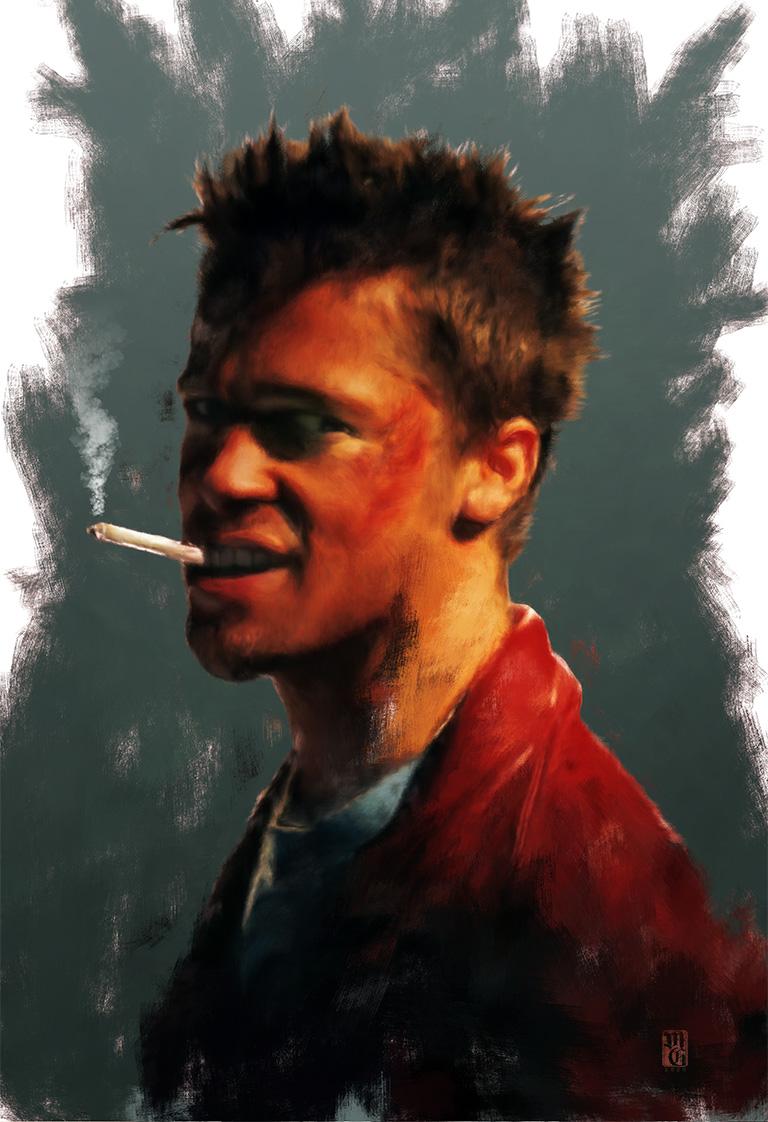 Tyler Durden Illustration