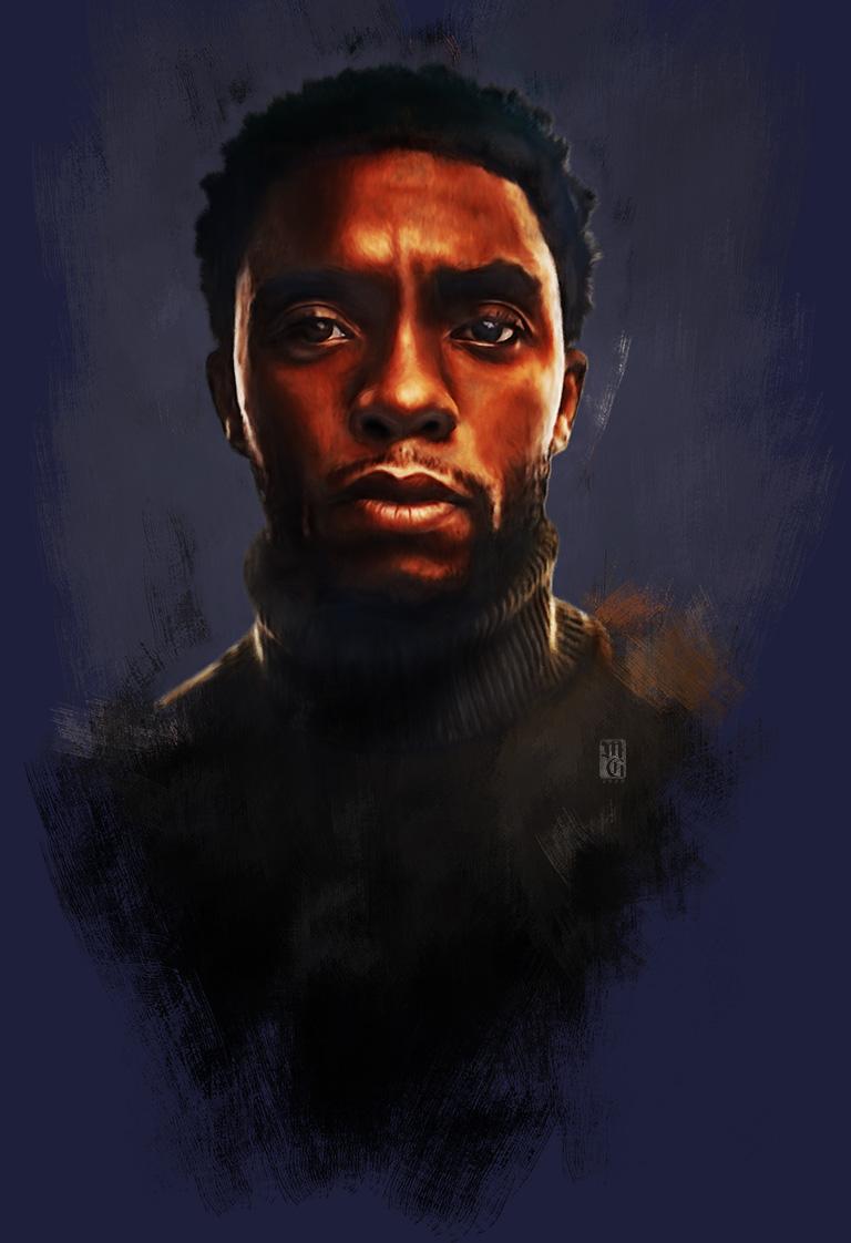 Portrait of Chadwick Boseman