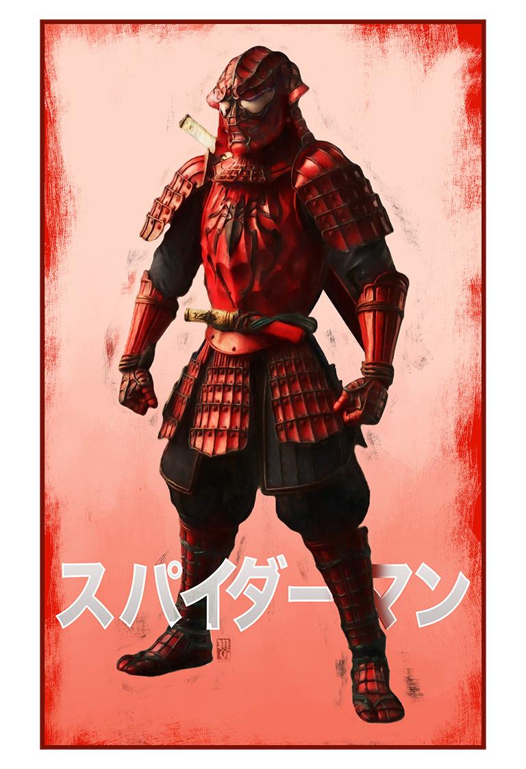 Spider-Man Samurai poster