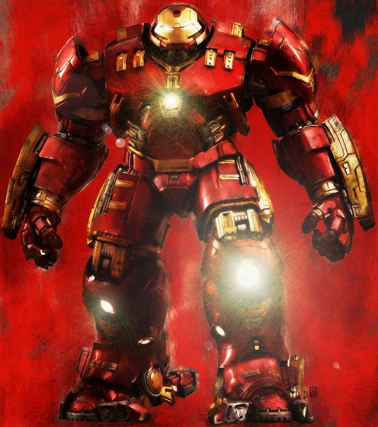 Hulkbuster illustration