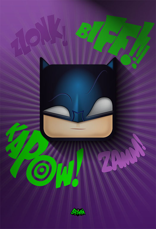 Batman illustrative icon