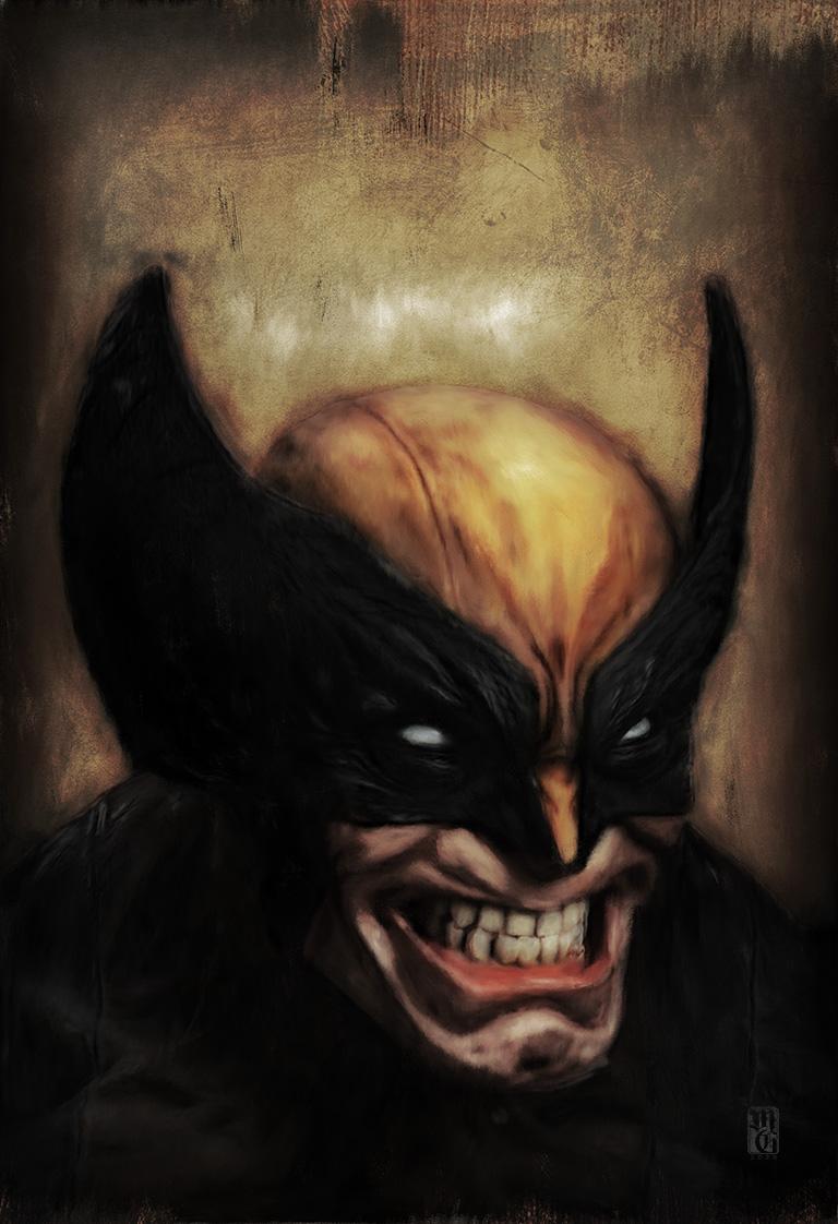 Portrait of Wolverine