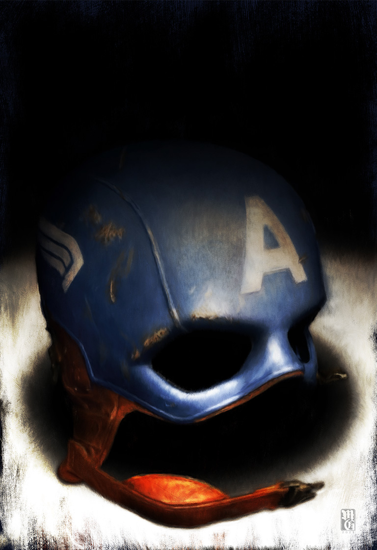 Captain America's helmet