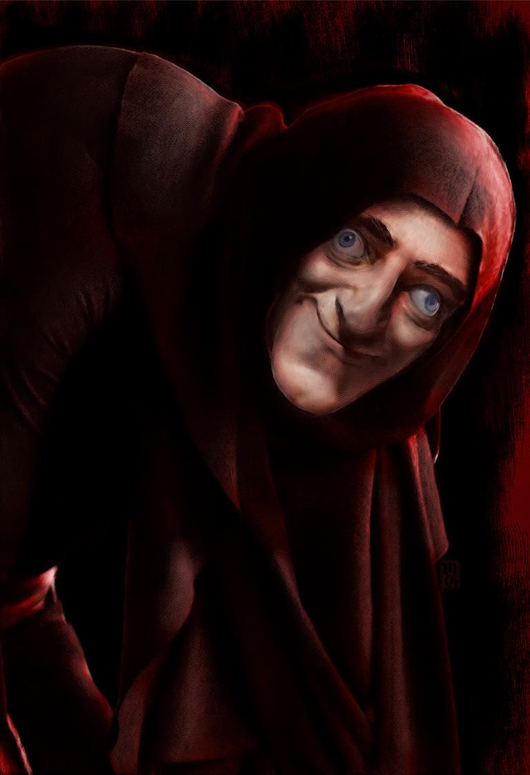 Portrait of Marty Feldman as Igor
