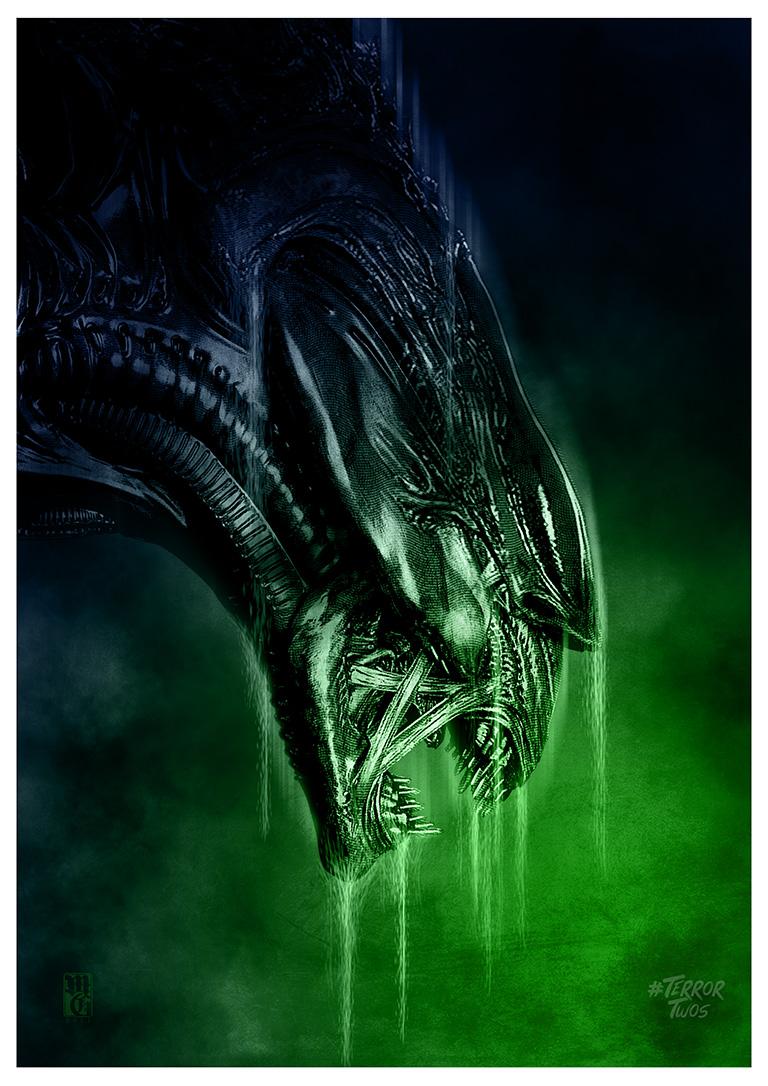 Illustration of the Alien queen