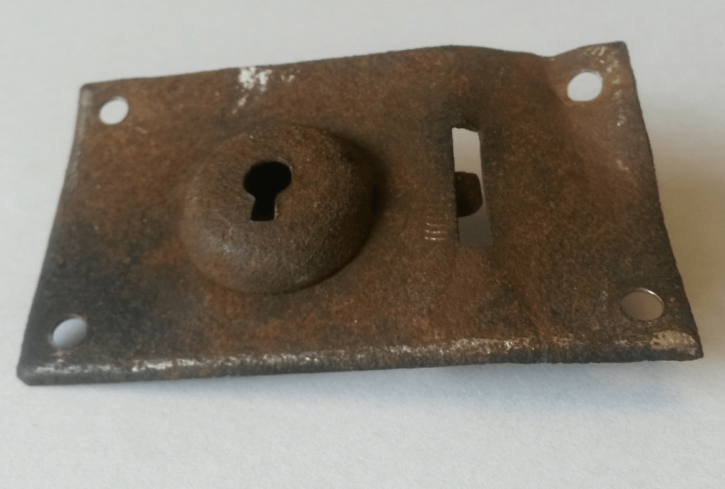 What to do with a rusty lock?