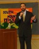 Speaking in NJ. Winter 2011.