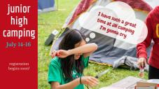 Youth Group Camping Trip Announcement