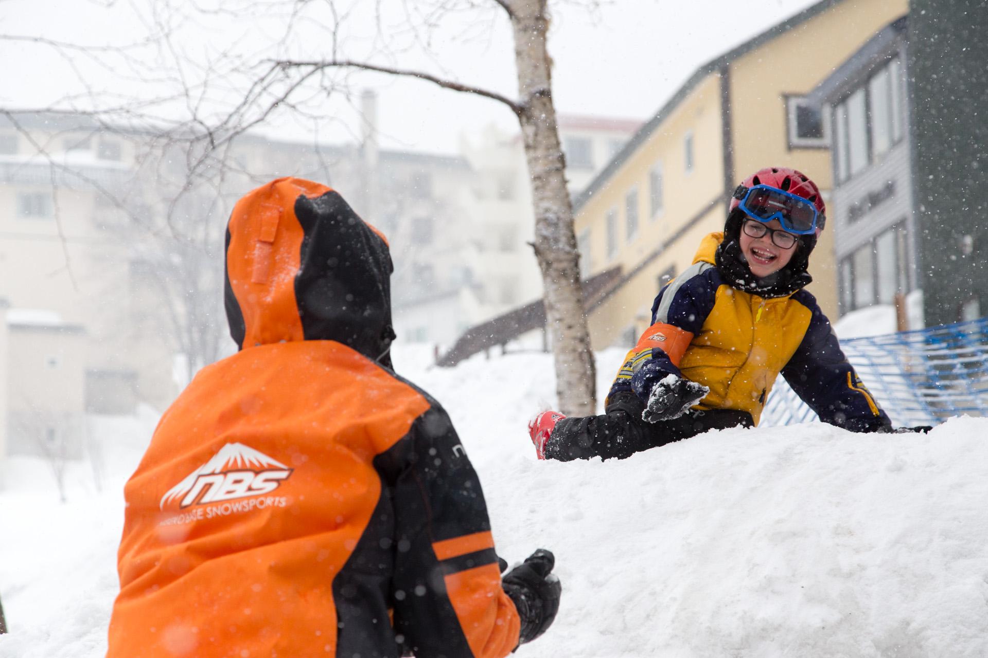 Niseko Base Snowsports kids club