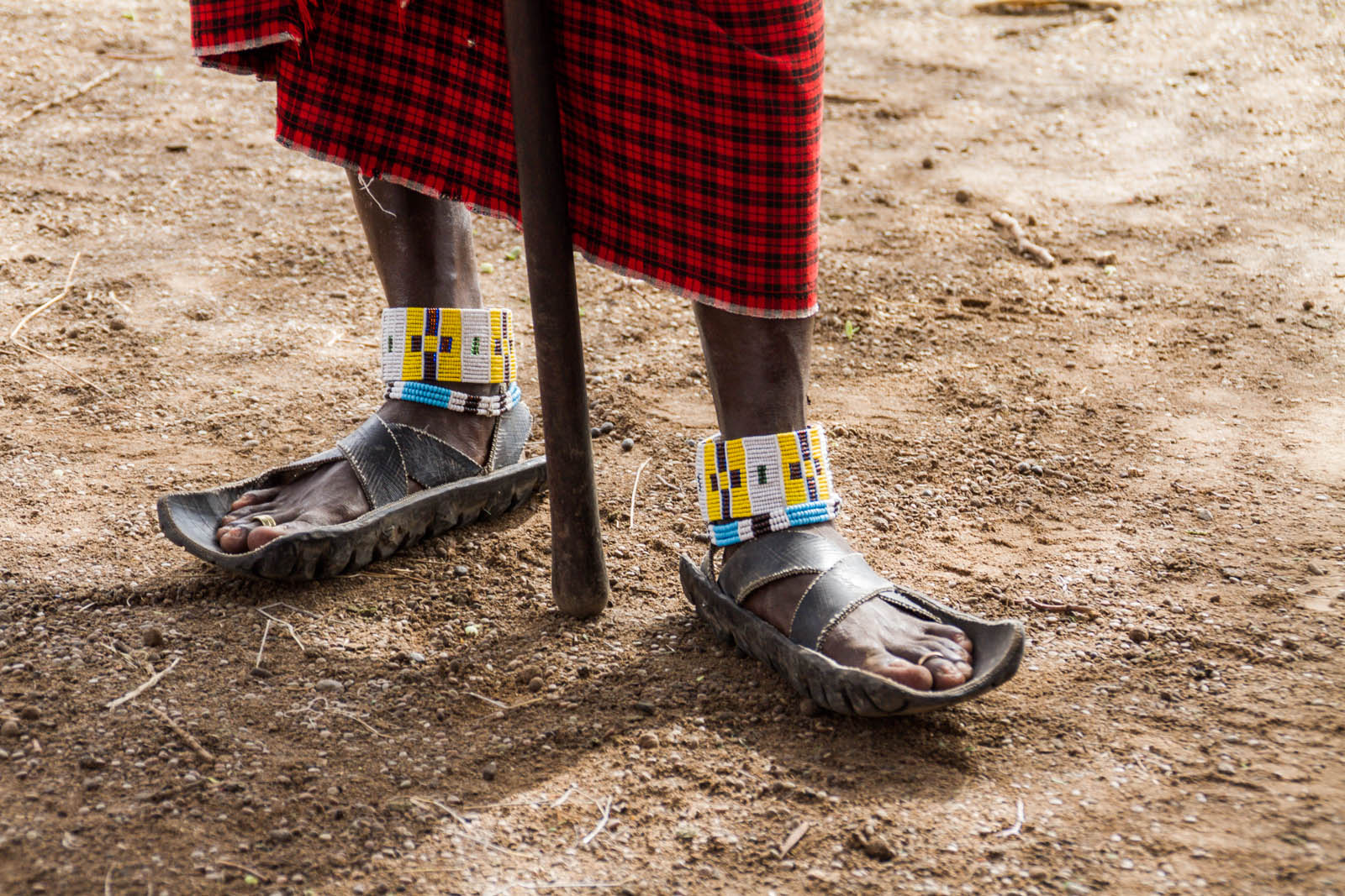 Maasai-traditional-footwear