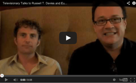 Russell T Davies and Euros Lyn talk Doctor Who and Torchwood
