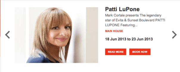 Reviewed: Patti LuPone and Seth Rudetsky
