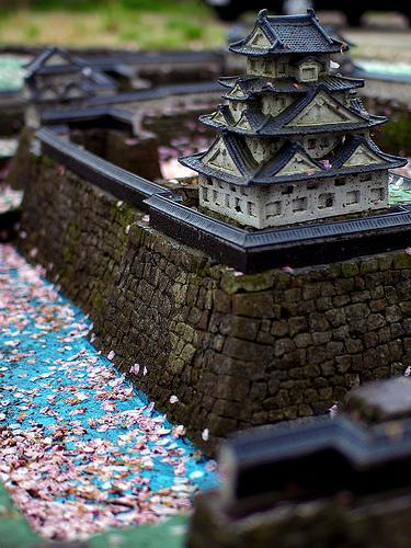 Fukui Castle scale model
