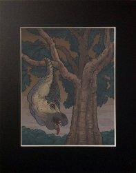 Sagari 8x10 print, 11x14 matted