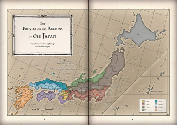 Evil Spirits - Map of Japan