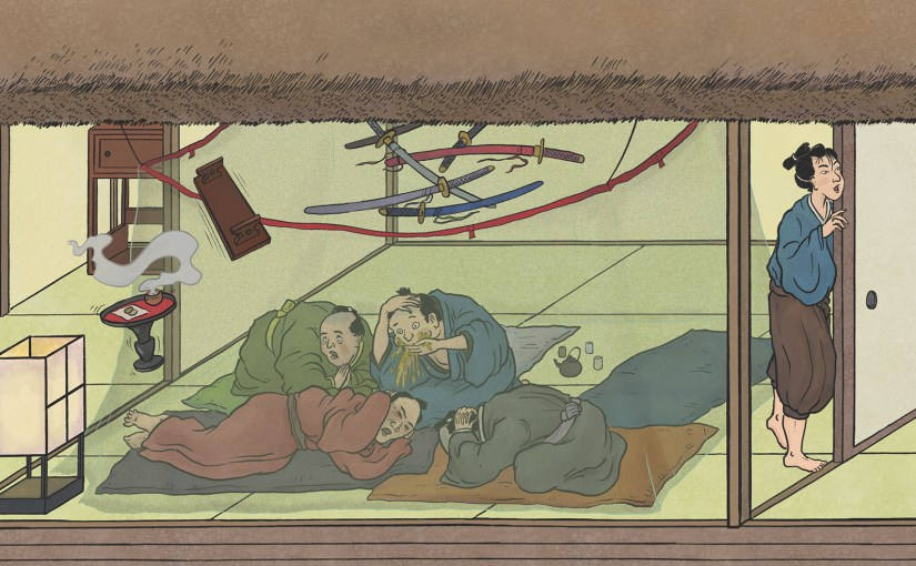 A-Yokai-A-Day: Ino Mononoke Roku, Day 17