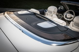 Exklusive Preview des Mercedes-Maybach S 650 Cabriolets am Vorabend der LAAS 2016 ;Kraftstoffverbrauch kombiniert: 12,0 l/100 km; CO2-Emissionen kombiniert: 272 g/km Exclusive Preview of the Mercedes-Maybach S 650 Cabriolets at the eve of the LAAS 2016; Fuel consumption combined: 12,0 l/100 km; Combined CO2 emissions: 272 g/km