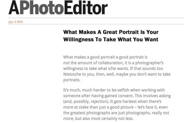 Matthew Swarts and Beth + Conscientious Photography Magazine + APhotoEditor