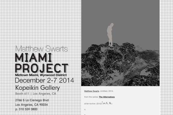 MatthewSwartsKopeikinMiamiProject2014Announcement