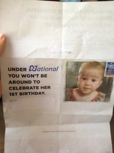 Labour mothers mailer 1