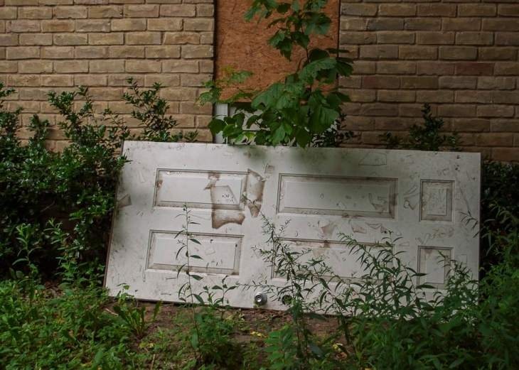 Abandoned White Rock Trail and Toscana Apartments in Dallas, Texas