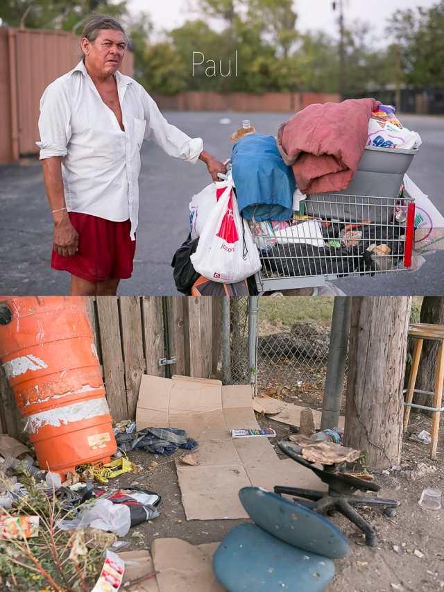 Dallas Homeless People: Paul